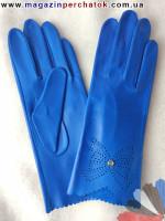 Модель № 010 Перчатки женские из натуральной кожи без подкладки. Кожа производства Италии.
