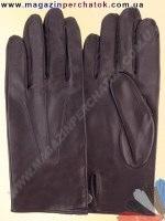 Модель № 461а Перчатки мужские без подкладки. Кожа производства Италии.