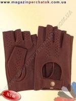 Модель № 484 Перчатки из натуральной кожи без подкладки. Кожа производства Италии.