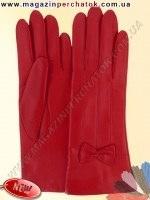 Модель № 506 Перчатки женские на шерстяной подкладке. Кожа производства Италии.
