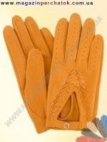 Модель № 014 Перчатки женские из натуральной кожи без подкладки. Кожа производства Италии.