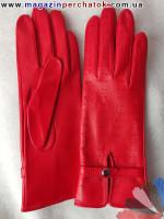 Модель № 028 Перчатки женские из натуральной кожи без подкладки. Кожа производства Италии.