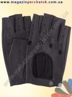 Модель № 295 Перчатки вело из натуральной кожи без подкладки. Кожа производства Италии.