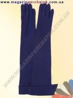 Модель № 311 Перчатки женские длинные из натуральной кожи на шелковой подкладке. Кожа производства Италии.