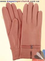 Модель № 057 Перчатки женские из натуральной кожи без подкладки. Кожа производства Италии.