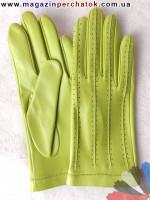 Модель № 108 Перчатки мужские без подкладки. Кожа производства Италии.