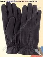 Модель № 031 Перчатки мужские из натуральной кожи на шерстяной подкладке. Кожа производства Италии.