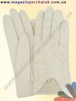 Модель № 060 Перчатки женские из натуральной кожи без подкладки. Кожа производства Италии.