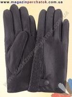 Модель № 162 Перчатки мужские из натуральной кожи на шерстяной подкладке. Кожа производства Италии.