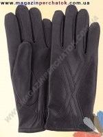 Модель № 159 Перчатки мужские из натуральной кожи на шерстяной подкладке. Кожа производства Италии.