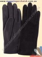 Модель № 158 Перчатки мужские из натуральной кожи на шерстяной подкладке. Кожа производства Италии.