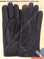 Модель № 125 Перчатки мужские из натуральной кожи на шерстяной подкладке. Кожа производства Италии.