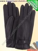 Модель № 123 Перчатки мужские из натуральной кожи на шерстяной подкладке. Кожа производства Италии.