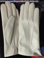 Модель № 070 Перчатки мужские из натуральной кожи на шерстяной подкладке. Кожа производства Италии.
