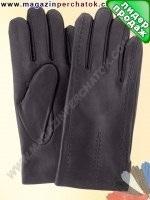 Модель № 066 Перчатки мужские из натуральной кожи на шерстяной подкладке. Кожа производства Италии.