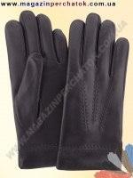 Модель № 032 Перчатки мужские из натуральной кожи на шерстяной подкладке. Кожа производства Италии.