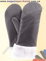 Модель № 067 Перчатки женские из натуральной кожи на подкладке из натурального меха. Кожа производства Италии..