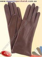 Модель № 001 Перчатки женские из натуральной кожи на шерстяной подкладке. Кожа производства Италии.