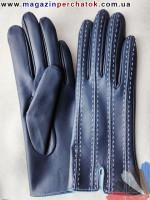 Модель № 404 Перчатки женские из натуральной кожи на шелковой подкладке. Кожа производства Италии.