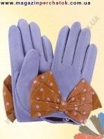 Модель № 406 Перчатки женские из натуральной кожи на шелковой подкладке. Кожа производства Италии.
