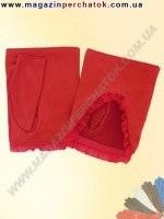 Распродажа. Перчатки женские из натуральной кожи без подкладки. Кожа производства Италии. Модель № 342