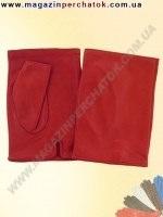Распродажа. Перчатки женские из натуральной кожи без подкладки. Кожа производства Италии. Модель № 380