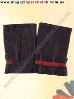 Распродажа. Перчатки женские из натуральной кожи без подкладки. Кожа производства Италии. Модель № 383