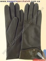 Модель № 006 Перчатки женские из натуральной кожи на шерстяной подкладке. Кожа производства Италии.