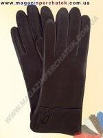 Модель № 007 Перчатки женские из натуральной кожи на шерстяной подкладке. Кожа производства Италии.