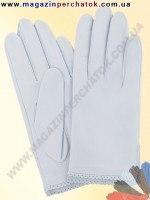 Модель № 005 Перчатки женские из натуральной кожи без подкладки. Кожа производства Италии.