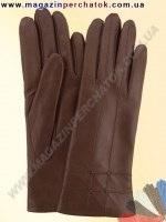 Модель № 025 Перчатки женские из натуральной кожи на шерстяной подкладке. Кожа производства Италии.