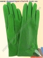 Модель № 038 Перчатки женские из натуральной кожи на шерстяной подкладке. Кожа производства Италии.